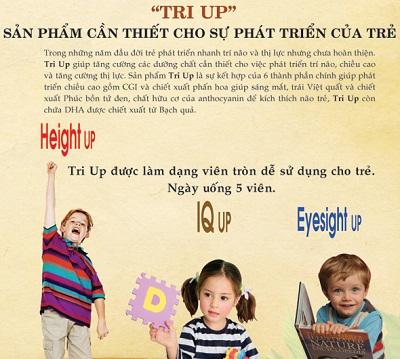 Dạng viên tròn dễ uống cho trẻ nhỏ, giúp trẻ tăng trưởng chiều cao